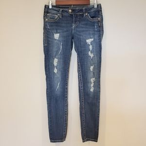 Silver Jeans Tuesday Skinny 28 by 31